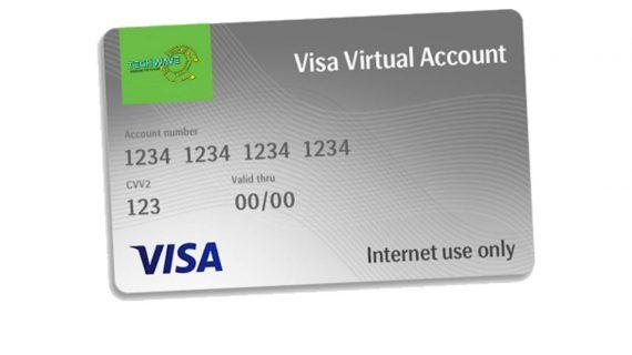 Virtual Visa Card  –  Only 1000/=
